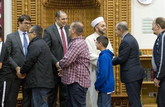 Londra Aziziye Camii Ramazan Bayramı