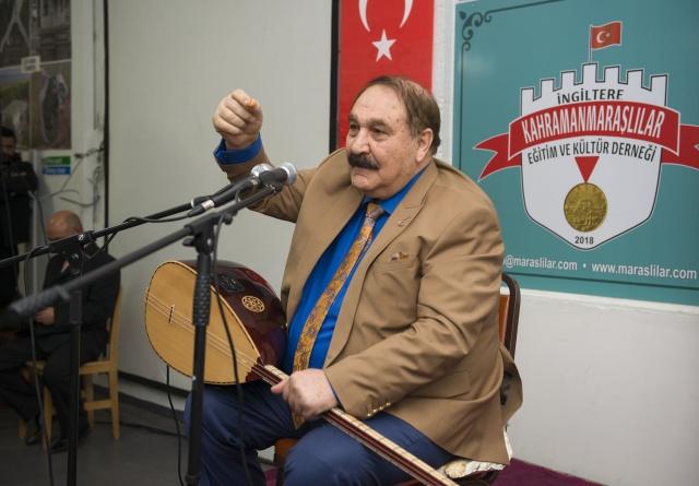 Kahramanmaraşlı TRT sanatçısı ve halk ozanı Hilmi Şahballı