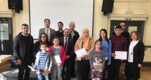 Londra'da Türkçe Kitap Okuma Yarışması Yapıldı