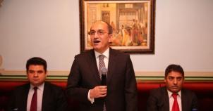 Avrupalı Türk Markalar Birliği Büyükelçi Bilgiç'i ağırladı