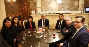 Türk Eximbank Genel Müdürü Adnan Yıldırım, Avrupalı Türk Markalar Birliği Yemeği