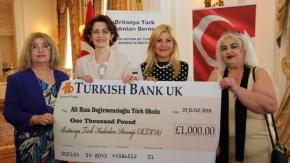 Britanya Türk Kadınları Derneği, Türk Okullarına Yardım Etkinliği
