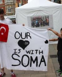 Cambridge'den Soma'ya 'Kalbimiz Sizinle' Mesajı