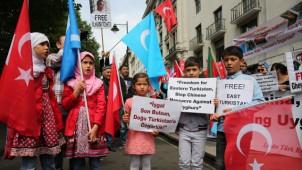 Doğu Türkistan'a Destek Gösterisi, Londra