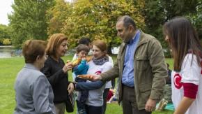 Başkonsolosluğunun organizasyonu ile Hyde Park'ta Kurban Bayramı