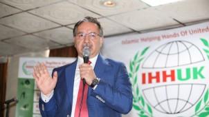 IHH-UK, Prof. Mustafa Karataş Açılış Konferans Programı