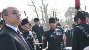 Portsmouth Deniz Şehitliği'nde 18 Mart Çanakkale Anma Töreni