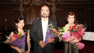 Vasfiye Ç. Çubukçu, Saki Matsumoto ve Burak Gülşen Konseri
