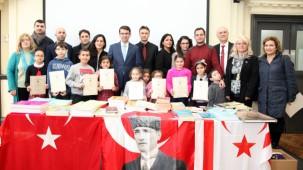 Başkonsolos Yorulmazlar Türk Okulları Kitap Bağış Kampanyası