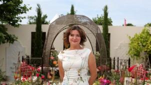 Hampton Court Çiçek Fuarı Türkiye Bahçesi