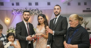 Londra'da Siyasetçileri Buluşturun Nişan töreni