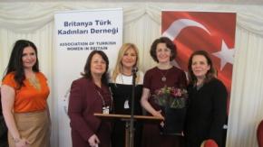 Britanya Türk Kadınları Derneği Dünya Kadınlar Günü Lordlar Kamarası'nda Kutladı