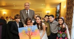 İş Adamı Özkul Beyzade'ye Sürpriz 80. Yaşgünü Partisi