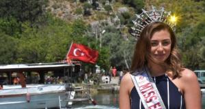 İngiltere Güzeli Alisha Cowie Muğla'nın Tanıtım Yüzü Oldu