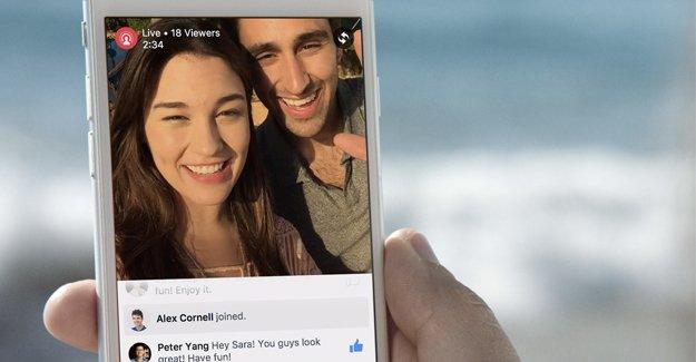 Facebook'ta 24 saat canlı yayın dönemi
