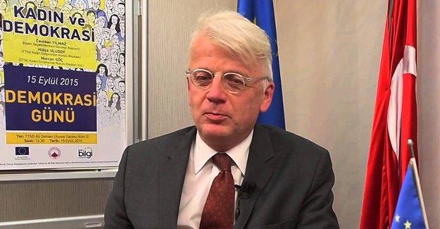 AB'nin Türkiye Büyükelçisi 'istifa etti'