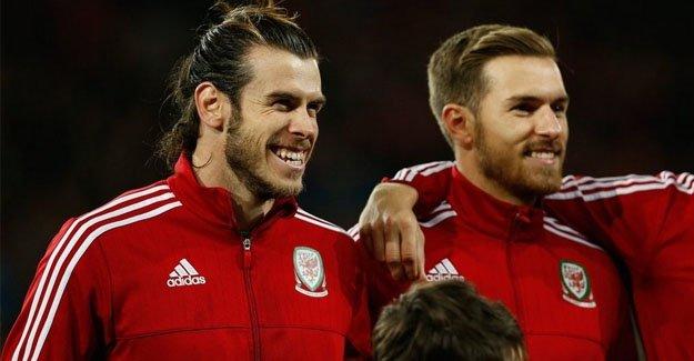 Bale ve Ramsey'den İngilizler'e gönderme!