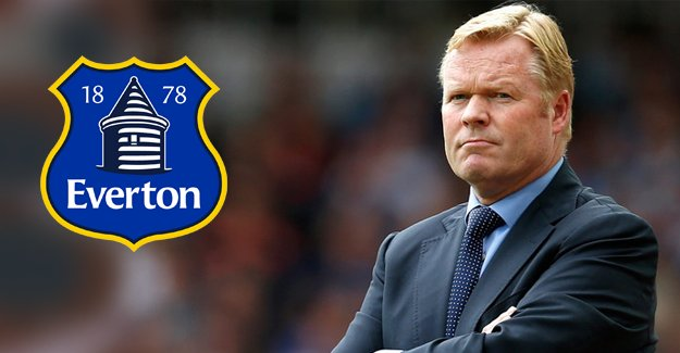 Everton Ronald Koeman'a emanet