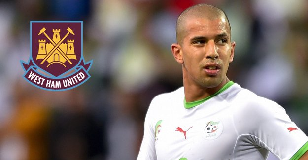 Feghouli, West Ham United kadrosunda