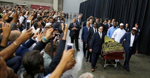 Muhammet Ali'nin cenazesinde rezalet!