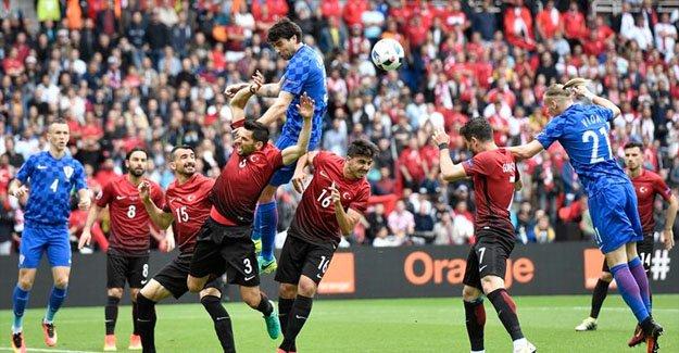 Türkiye - Hırvatistan maçı Twitter'da patladı
