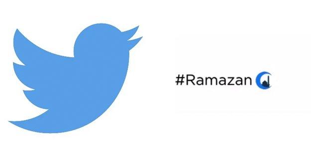 Twitter'dan Ramazan'a özel hashtag