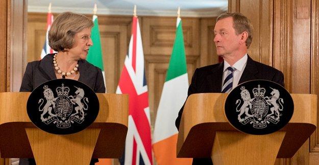 İrlanda Başbakanı Kenny Londra'da