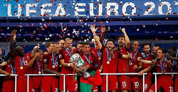 Portekiz, Avrupa şampiyonu oldu (Portekiz 1:0 Fransa)