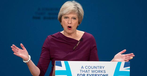 Başbakan May'in gizli toplantı konuşması sızdı