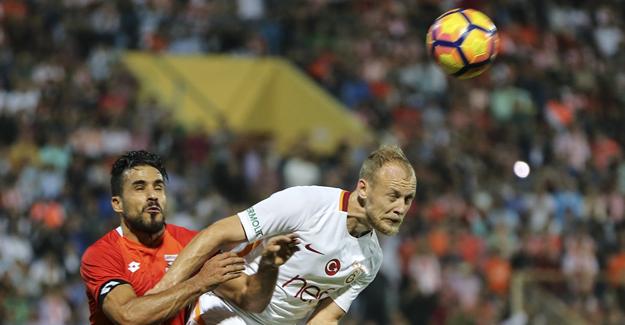 Galatasaray, Adana'dan tek golle üç puanı aldı