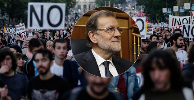 İspanya'da azınlık hükümeti 'protestolarla' güvenoyu aldı