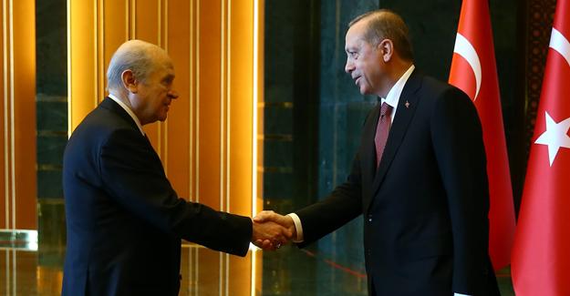 MHP lideri Devlet Bahçeli'den bir ilk!