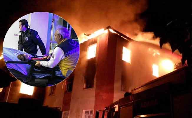 Adana Aladağ öğrenci yurdunda yangın: 12 ölü