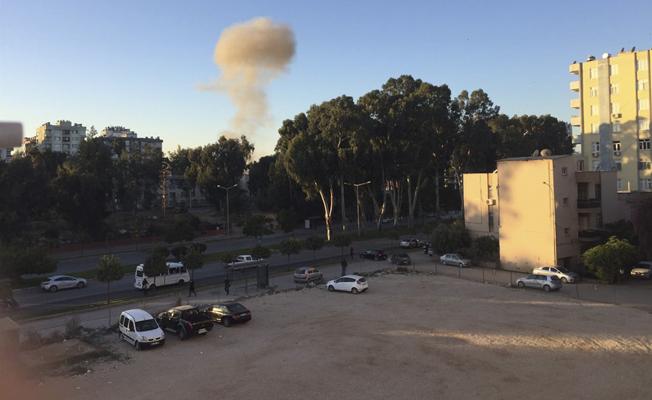 Adana'da Valilik önünde korkunç patlama