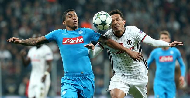 Beşiktaş, Arena'da Napoli'yle eşitliğe razı oldu