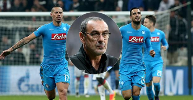 Beşiktaş beraberliği, Napoli Teknik Direktörünü memnun etmedi