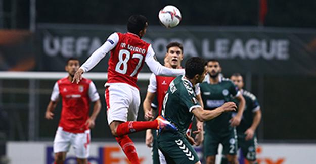 Braga deplasmanında Atiker Konyaspor tek golle yetindi