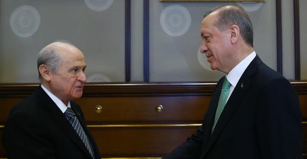 Cumhurbaşkanı Erdoğan ve Bahçeli görüşmesine ne konuşuldu?