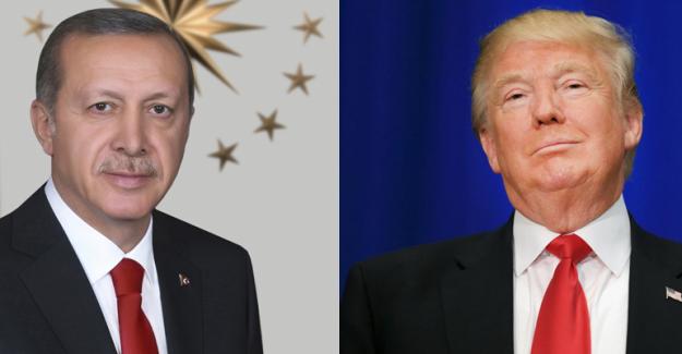 Erdoğan, Trump'ı telefonla tebrik etti