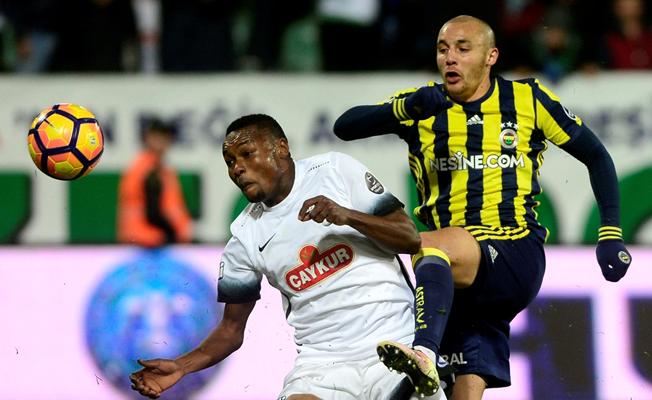 Fenerbahçe, Çaykur Rizespor'u evinde perişan etti