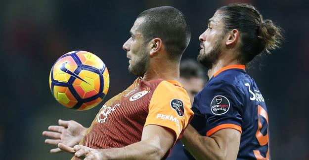 Galatasaray evinde Medipol Başakşehir karşısında kaybetti