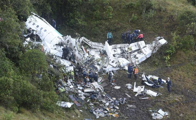 İşte Kolombiya'da yaşanan uçak faciasında ölü sayısı