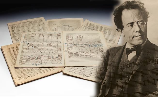 Mahler'in el yazımı notalarına rekor fiyat