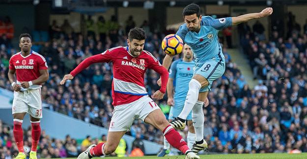 Manchester City sahasında puan kaybetti