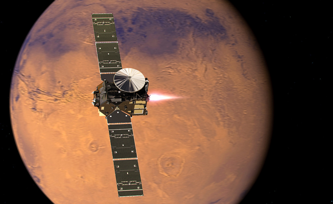 Mars uydusu ilk görüntülerini gönderdi