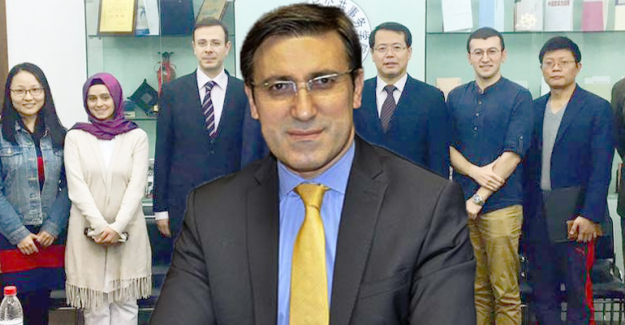 Milletvekili Talip Küçükcan Çinlilere Türkiye'yi anlattı