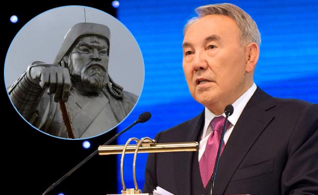 Nazarbayev, Cengiz Han'ın torunu çıktı