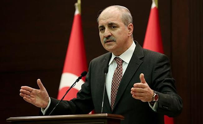 Kurtulmuş, AB'nin Türkiye kararları için konuştu