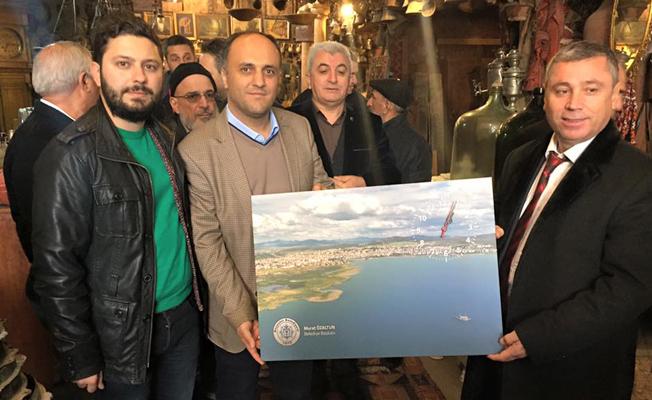 Dünya E-Basın Konseyi, Beyşehir'i ziyaret etti