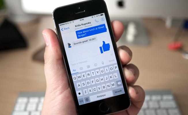 Facebook Messenger'a oyun özelliği